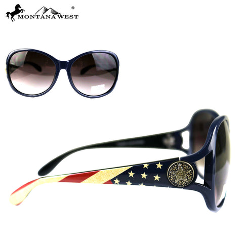 SGS-US05  Montana West American Pride Collection Western Woman Sunglasses
