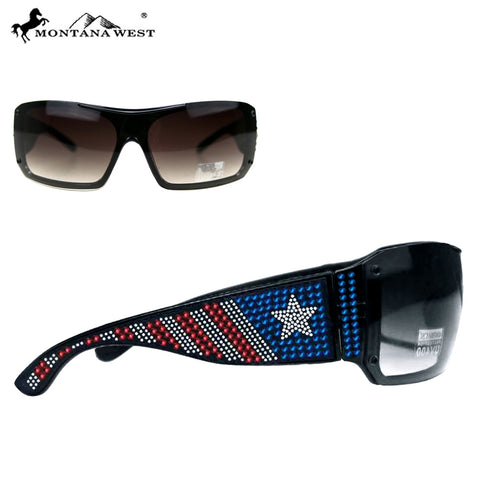 SGS-US06 Montana West American Pride Collection Sunglasses