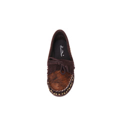 SMT-001 Montana West Western Moccassin Slipper Genuine Hair Calf - By Case