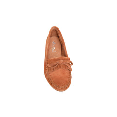 SMT-004 Montana West Western Leather Suede Moccasin Slipper - By Case
