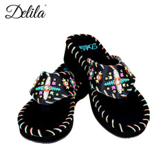 SS-S002 Delila Collection Flip Flops By Case