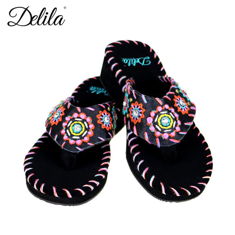 SS-S003 Delila Collection Flip Flops By Case
