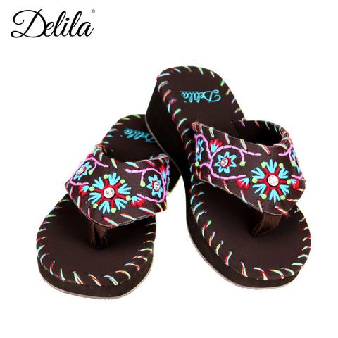 SS-S005 Delila Collection Flip Flops By Case