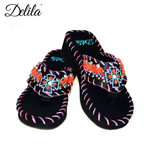 SS-S006 Delila Collection Flip Flops By Case