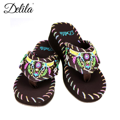 SS-S011 Delila Collection Flip Flops By Case