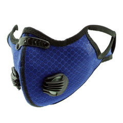 SSFCM-006  Adjustable Sports Face Mask Reusable with Filter and  Exhalation Valves