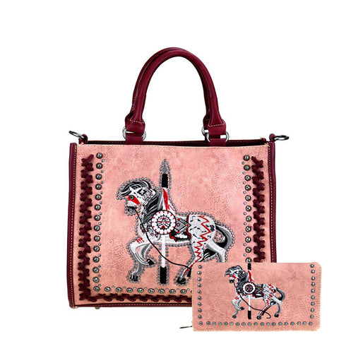 HW-TPP01-8116  Montana West Handbag and Wallet - By Set