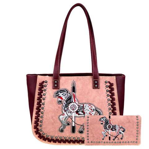 HW-TPP01-8318  Montana West Handbag and Wallet - By Set