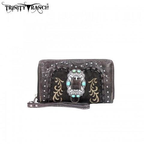 TR02-W003 Trinity Ranch Buckle Collection Wallet