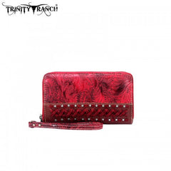 TR03-W003 Trinity Ranch Tooled Wallet