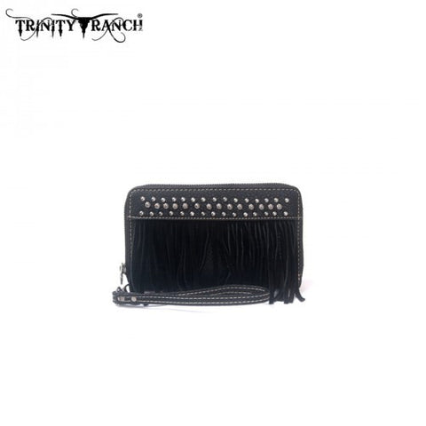 TR09-W003 Trinity Ranch Fringe Design Wallet
