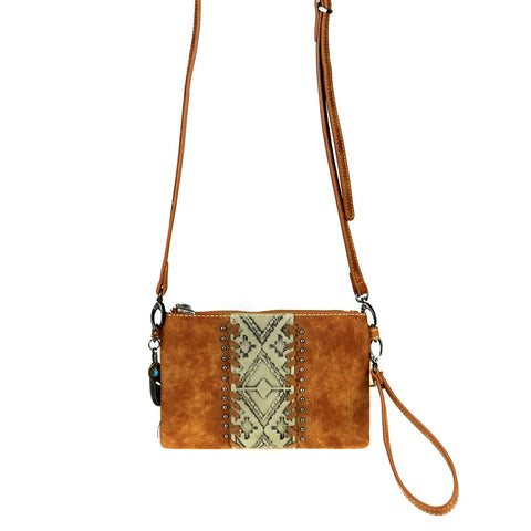 TR103-181 Trinity Ranch Embossed Collection Clutch/Crossbody