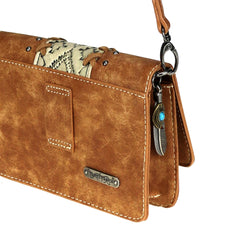 TR103-8361 Trinity Ranch Embossed Collection Belt Bag/Crossbody