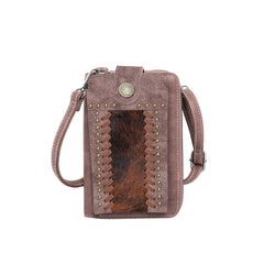 TR112-183 Trinity Ranch Hair-On Collection Phone Wallet/Crossbody