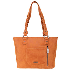 TR119G-8317 Trinity Ranch Hair-On Leather Collection Concealed Carry Tote