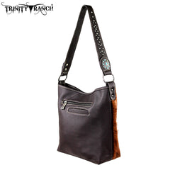 TR13-L916 Trinity Ranch Hair-on Leather Collection Handbag