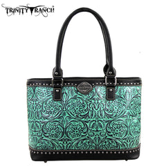 TR15-L8317  Trinity Ranch Tooled Design Collection Tote