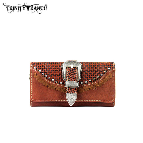 TR31-W002 Trinity Ranch Buckle Collection Wallet