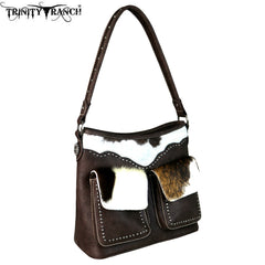 TR62-916 Trinity Ranch Hair-On Leather Collection Hobo