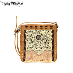 TR71-8360 Trinity Ranch Tooled Leather Collection Crossbody