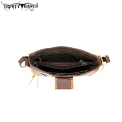 TR75-9220 Trinity Ranch Hair-On Leather Collection Hobo