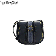 TR82-8360 Trinity Ranch Tooled Leather Collection Crossbody