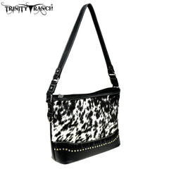 TR87-8390 Trinity Ranch Hair-On Leather Collection  Hobo
