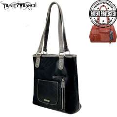 TR92G-8241 Trinity Ranch Hair-On Collection Concealed Carry Tote