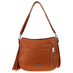TR97G-918 Trinity Ranch Hair-On Cowhide Collection Concealed Carry Hobo