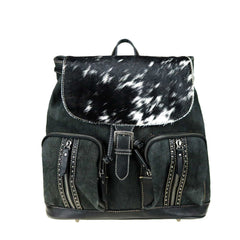 TR98P-9110  Trinity Ranch Hair-On Cowhide Collection Backpack