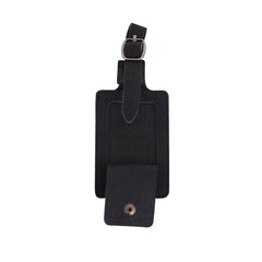 TVT-006 Montana West Real Leather Luggage Tag  (Pre-pack 12Pcs/Assorted Colors)