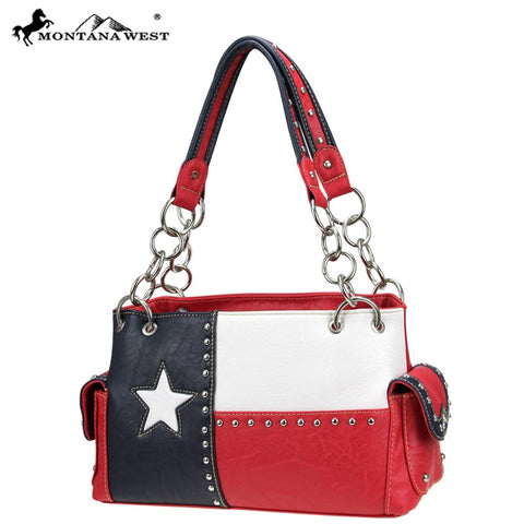 TX-8085K Montana West Texas Pride Collection handbag
