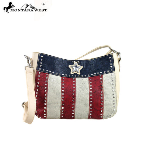 TX02-8269 Montana West Texas Pride Collection Handbag (2 in 1)