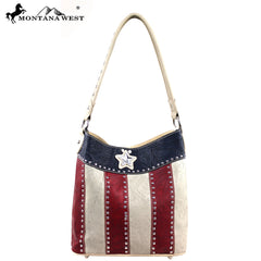 TX02-916 Montana West Texas Pride Collection Handbag ( 2 in 1)