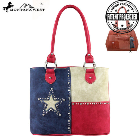 TX04G-8317 Texas Pride Concealed Handgun Collection Handbag