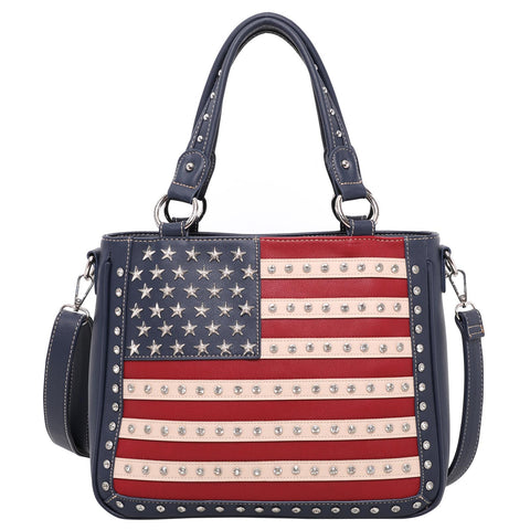 US04G-8260 Montana West American Pride Concealed Carry Tote/Crossbody