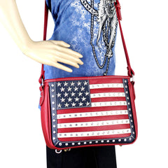 US04G-8287 Montana West American Pride Concealed Carry Crossbody