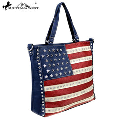 US19-8260 Montana West American Pride Collection Tote/Crossbody