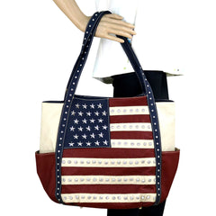 US19-8270 Montana West American Pride Collection Tote