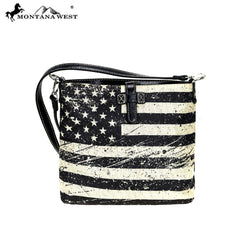US21-8360  Montana West American Pride Collection Revisible Crossbody