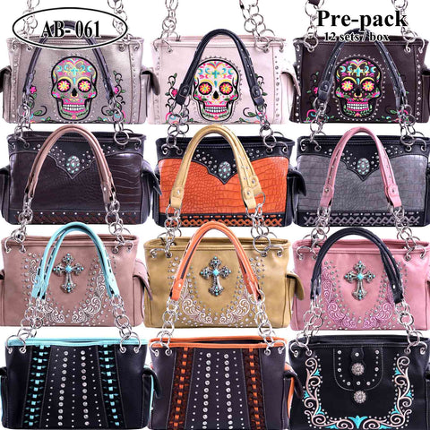 AB-061 American Bling Pre-pack Concealed Carry Handbags Only