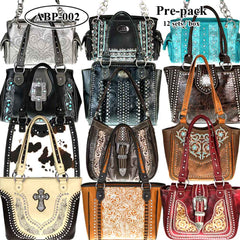 ABP-02 American Bling  Pre-pack Phone Charging Handbag (12pcs Assorted Style)