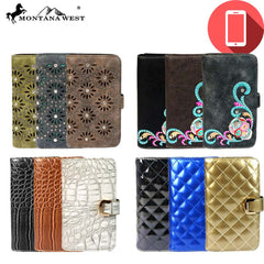ABPW-06 American Bling Phone Charging Wallet Pre-pack (12pcs)