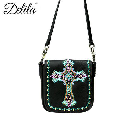 LEA09-503 Delila 100% Genuine Leather Crossbody