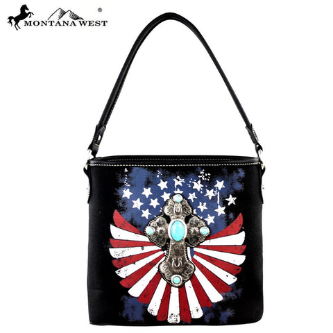 MW257-916 Montana West Spiritual/Patriotic Collection Hobo
