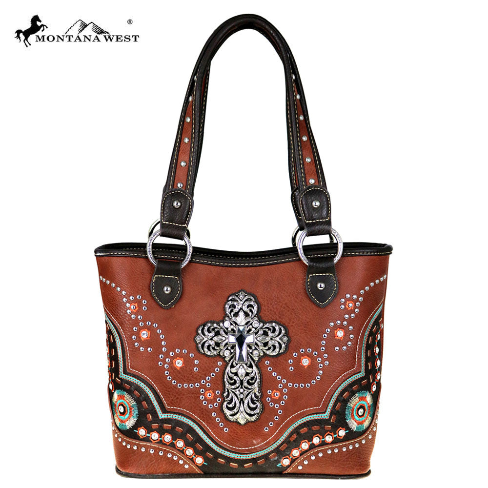 bdc8d294f142 MW413-8005 Montana West Spiritual Collection Tote