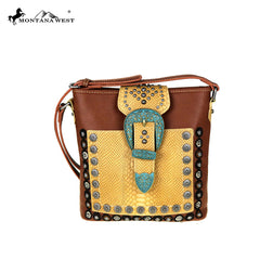 MW417-8287  Montana West Buckle Collection Crossbody
