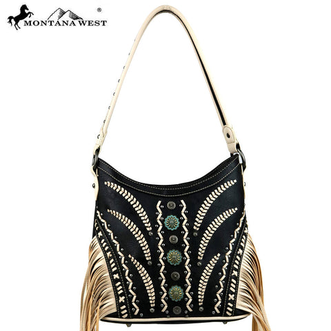 MW420-8201 Montana West Fringe Collection Hobo