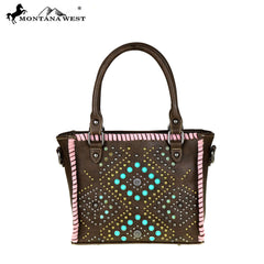 MW439-8391  Montana West Tribal Collection Mini Tote/Crossbody