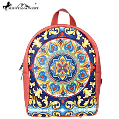 MW482-9110 Montana West Aztec Collection Backpack